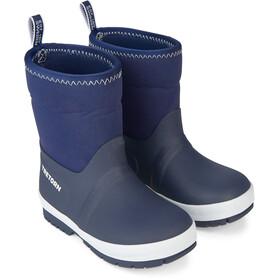 Tretorn Kuling Neoprene Rubber Boots Kids Navy/White
